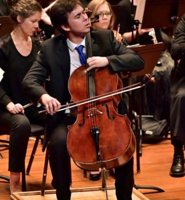 Jonah Ellsworth Cello
